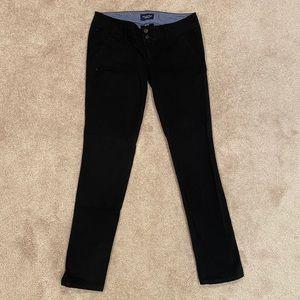 American Eagle Straight Leg Black Pants